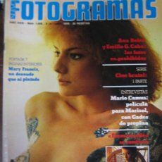 Cine: FOTOGRAMAS Nº 1459 MARY FRANCIS. Lote 30636142