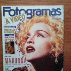 Cine: FOTOGRAMAS MAYO 1990 ( MADONNA / MICHELLE PFEIFFER / DANIEL DAY LEWIS ) - PEDIDO MINIMO 6€. Lote 30648185
