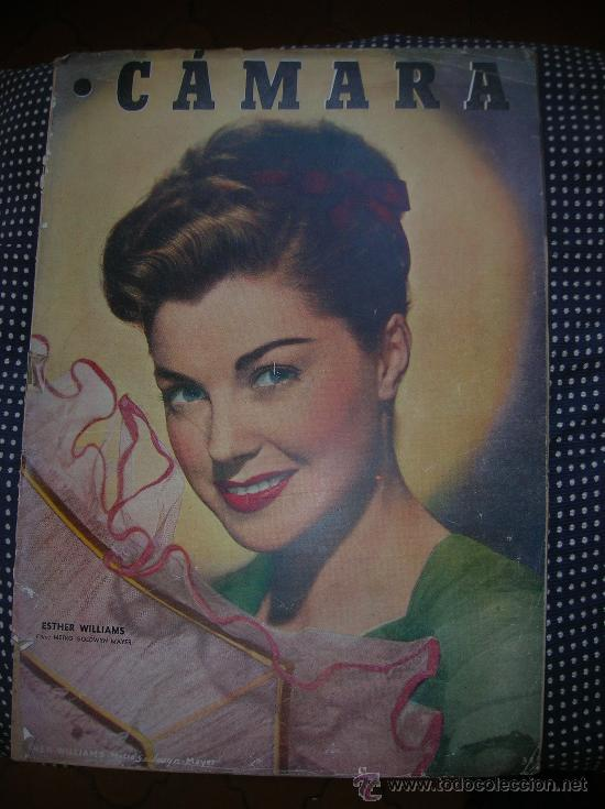 CÁMARA -1 MAYO DE 1949- ESTHER WILLIAMS- (Cine - Revistas - Cámara)