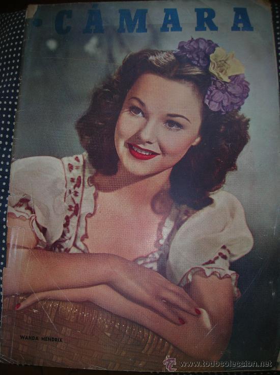 CÁMARA -15 MARZO DE 1949-PORTADA WANDA HENDRIX (Cine - Revistas - Cámara)