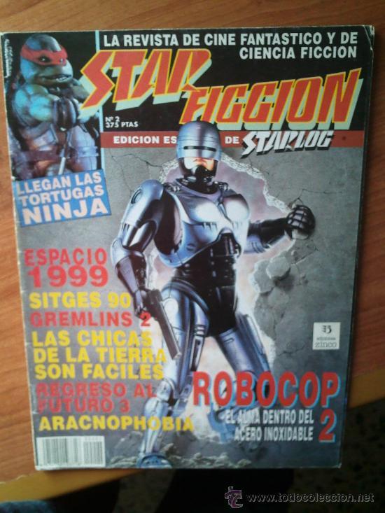 STAR FICCION Nº 2 - LA REVISTA DE CINE FANTASTICO Y CIENCIA FICCION (Cine - Revistas - Star Ficcion)