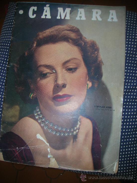 CÁMARA 15 DE MAYO DE 1949-PORTADA DEBORAH KERR (Cine - Revistas - Cámara)