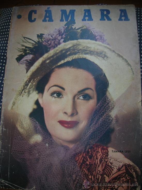 CÁMARA 15 FEBRERO DE 1949-PORTADA TAMARA LEES (Cine - Revistas - Cámara)