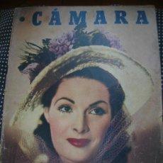 Cine: CÁMARA 15 FEBRERO DE 1949-PORTADA TAMARA LEES. Lote 30677464