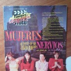 Cine: CLAQUETA Nº 5 - MUJERES AL BORDE DE UN ATAQUE DE NERVIOS - PEDIDO MINIMO 6€. Lote 30677495