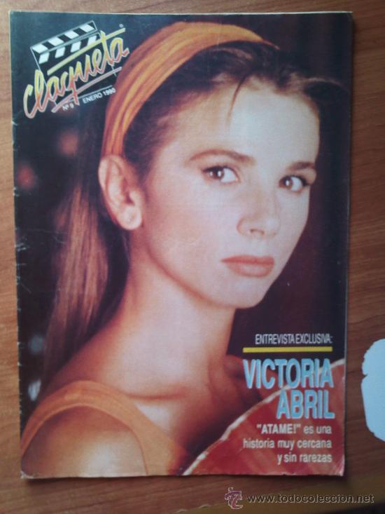 CLAQUETA Nº 9 - VICTORIA ABRIL - PEDIDO MINIMO 6€ (Cine - Revistas - Claqueta)