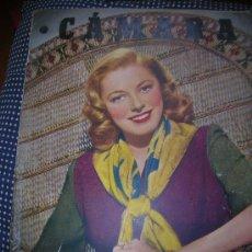 Cine: CÁMARA 1 JULIO DE 1949 -PORTADA ELEANOR PARKER. Lote 30677563