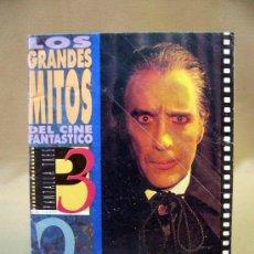 Cine: REVISTA, LOS GRANDES MITOS DEL CINE FANTASTICO 2, DRACULA. Lote 30886950