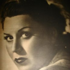 Cine: REVISTA PRIMER PLANO, JULIO 1942, Nº91, PAOLA BÁRBARA, SUSANA GRANDOIZ, JUAN SIGNORET,ROSINA MENDIA . Lote 30815025