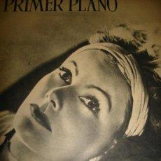 Cinéma: REVISTA PRIMER PLANO, JUNIO 1942, Nº86,GRETA GARBO,ANTONIO CASAL,JAIME ANDRADE,WILLY FRITSCH, MYRNA. Lote 30815174
