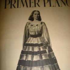 Cine: REVISTA PRIMER PLANO, ABRIL 1942, Nº79,ALIDA VALLI, MADELEINE CARROLL, MARY SANTA MARÍA, WALT DISNEY. Lote 30815401