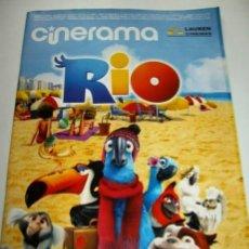 Cine: REVISTA CINERAMA * LAUREN CINEMAS * ABRIL 2011 - Nº 193. THOR, LA LEGIÓN DEL AGUILA, NADA QUE.... Lote 31015054