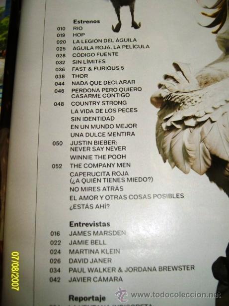 Cine: REVISTA CINERAMA * LAUREN CINEMAS * ABRIL 2011 - Nº 193. THOR, LA LEGIÓN DEL AGUILA, NADA QUE... - Foto 2 - 31015054