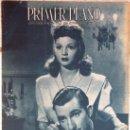 Cine: SARA MONTIEL REVISTA PRIMER PLANO CON FERNANDO FERNAN GOMEZ 1944. Lote 31032460