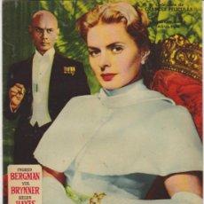 Cine: ANASTASIA. GRANDES PELÍCULAS. EDITORIAL FHER 1959.. Lote 31076791