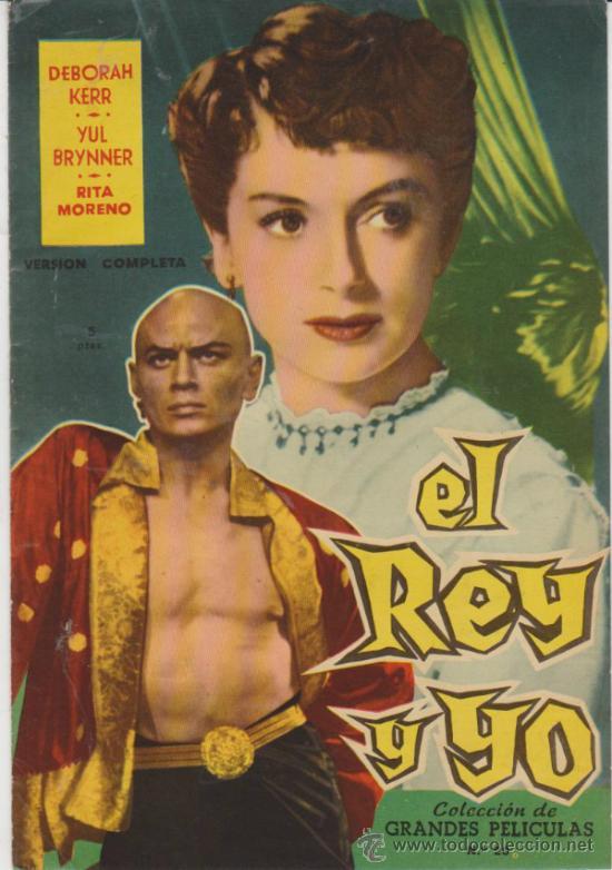 GRANDES PELICULAS Nº 20. EL REY Y YO. FHER 1959. (Cine - Revistas - Colección grandes películas)