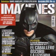 Cine: IMAGENES DE ACTUALIDAD N. 321 FEBRERO 2012 - EN PORTADA: EL CABALLERO OSCURO (NUEVA). Lote 31096225