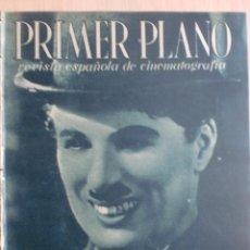 Cine: REVISTA PRIMER PLANO. SEPTIEMBRE 1944. Nº 205. CHARLOT EN LA QUIMERA DEL ORO. CARLOS MUÑOZ .. Lote 31120334