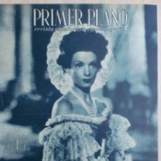 Cinéma: REVISTA PRIMER PLANO. NOVIEMBRE 1944. Nº 212. CONCHITA MONTENEGRO EN LOLA MONTES. ANTONIO ROMAN.. Lote 31120581