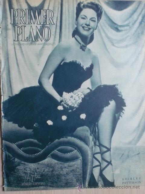 REVISTA PRIMER PLANO. NOVIEMBRE 1944. Nº 214. NUMERO ESPECIAL. SHIRLEY PATTERSON. SPENCER TRACY. (Cine - Revistas - Primer plano)