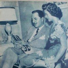 Cine: REVISTA PRIMER PLANO. FEBRERO 1945. Nº225. MYRNA LOY Y WILLIAM POWELL. ROBERT TAYLOR Y ALBERT COATES. Lote 31120930