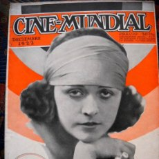 Cine: CINE MUNDIAL - DICIEMBRE 1922. Lote 150512060