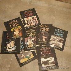 Cine: LOTE 10 TOMOS COLECCIONABLES DE LA GRAN HISTORIA DEL CINE,. Lote 31153044