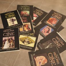 Cine: LOTE 10 TOMOS COLECCIONABLES LA GRAN HISTORIA DEL CINE,. Lote 31153561