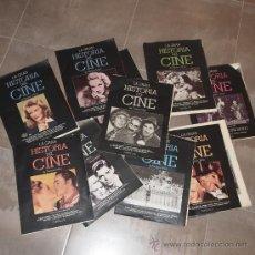 Cine: LOTE 10 TOMOS COLECCIONABLES DE LA GRAN HISTORIA DEL CINE,. Lote 31153591