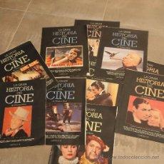 Cine: LOTE 10 TOMOS COLECCIONABLES DE LA GRAN HISTORIA DEL CINE,. Lote 31153628