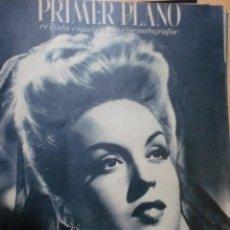 Cine: REVISTA PRIMER PLANO. FEBRERO 1944. Nº 175. MERCEDES VECINO. . Lote 31179265