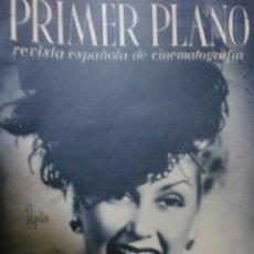 Cine: REVISTA PRIMER PLANO. ENERO 1944. Nº 170. ANA MARISCAL. RAFAEL DURAN EN EL CLAVO.. Lote 31179383