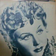 Cine: REVISTA PRIMER PLANO. OCTUBRE 1943. Nº 155. MARIA PONS. JUAN CALVO.. Lote 31179903