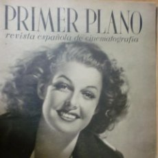 Cine: REVISTA PRIMER PLANO. FEBRERO 1941. Nº 16. ANN SHERIDAN. CONCHITA MONTENEGRO.. Lote 31180643