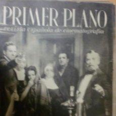 Cine: REVISTA PRIMER PLANO. MARZO 1941. Nº 21. JOSITA HERNAN Y RAFAEL DURAN.. Lote 31180948