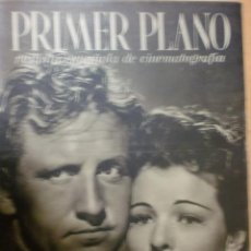 Cine: REVISTA PRIMER PLANO. JUNIO 1941. Nº 33. SPENCER TRACY Y RUTH HUSSEY. MARY CARRILLO.. Lote 31181156