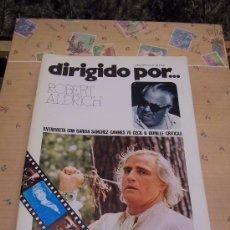 Cine: DIRIGIDO POR...ROBERT ALDRICH - JUNIO 1976 / ILUSTRADA - Nº 34. Lote 31256421