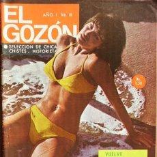 Cine: RAQUEL WELCH (REVISTA EL GOZÓN). Lote 31273353