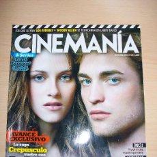 Cine: CINEMANIA Nº 169 - AVANCE EXCLUSIVO 6 PAGINAS CREPÚSCULO - LUNA NUEVA - AGORA DE AMENABAR. Lote 31309769