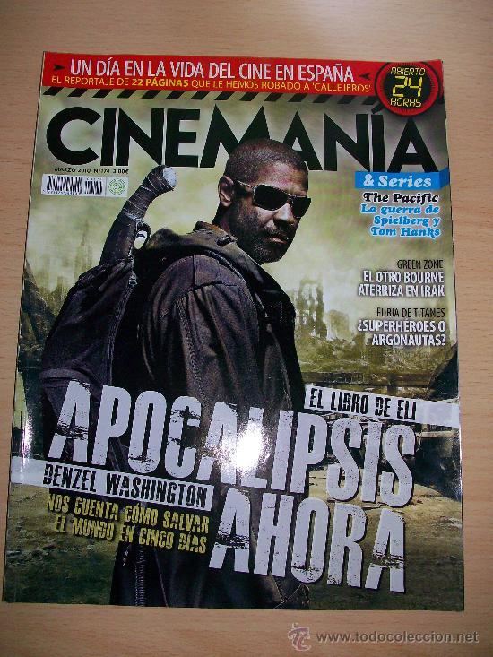 CINEMANIA Nº 174 . DENZEL WASHINGTON (Cine - Revistas - Cinemanía)