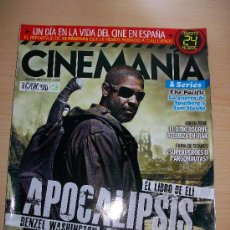 Cine: CINEMANIA Nº 174 . DENZEL WASHINGTON. Lote 31309783