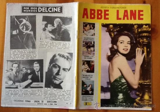 ABBE LANE COLECCION CINECOLOR Nº 27 (Cine - Revistas - Cinecolor)
