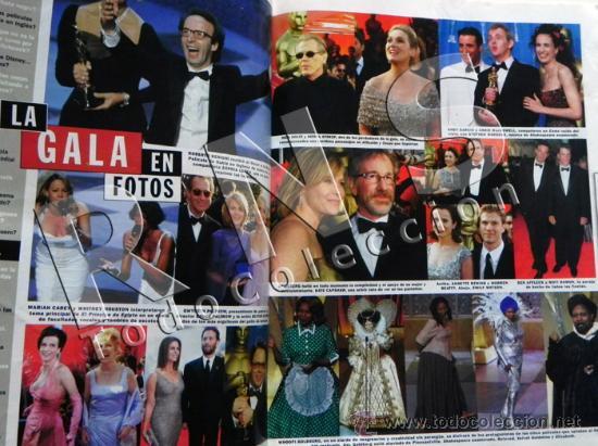Cine: LOTE 2 FOTOGRAMAS Y OSCAR AÑOS 90 SUMPLEMENTOS - REVISTAS SPIELBERG TRUEBA PALTROW CINE REVISTA - Foto 2 - 31403600
