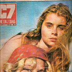 Cine: C7 CINE EN 7 DIAS Nº 552 6 DE NOVIEMBRE DE 1971. Lote 31483874