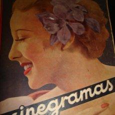 Cine: CINEGRAMAS, REVISTA SEMANAL, AÑO II, Nº 33, 1935,CINE NACIONAL,TÉCNICA,ALEXANDER KORDA,LESLIE BANKS. Lote 31502830