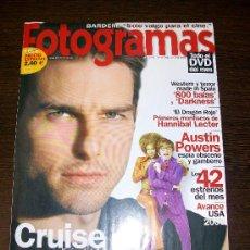 Cine: FOTOGRAMAS Nº 1908 (OCTUBRE 2002) - MINORITY REPORT - CON SUPLEMENTO SPIELBERG. Lote 31524435