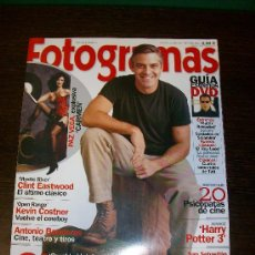 Cine: FOTOGRAMAS Nº 1920 (OCTUBRE 2003) - GEORGE CLOONEY. Lote 31525711