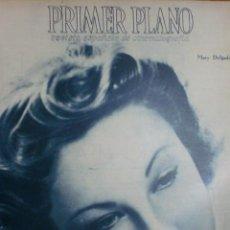 Cine: REVISTA PRIMER PLANO. AGOSTO 1943. Nº 146. MARY DELGADO. EL MISTERIO DE JOSITA HERNAN.. Lote 31551347