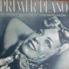 Cine: REVISTA PRIMER PLANO. JUNIO 1943. Nº 140. JOSITA HERNAN. CAMBIO DE AUTOGRAFOS.. Lote 178601377