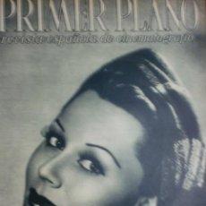 Cine: REVISTA PRIMER PLANO. ABRIL 1943. Nº 129. PAOLA BARBARA. LA PRIMERA VUELTA DEL ESCANDALO.. Lote 31551650